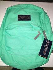 JanSport SuperBreak Seafoam Green New with Tag