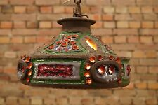 60er céramique PLAFONNIER LAMPE DANISH Moderne plafond Lampe vintage plafonnier
