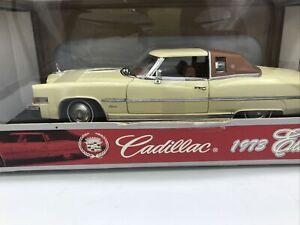 1/18 Anson 1973 Cadillac Eldorado Cream Part # 30357
