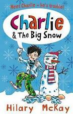 Very Good, Charlie and the Big Snow, McKay, Hilary, Book