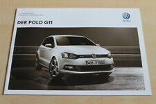 99388) VW Polo 6R GTI - Preise & tech. Daten & Ausstattungen - Prospekt 10/2011