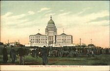 Providence RI Inauguration Day c1910 Postcard