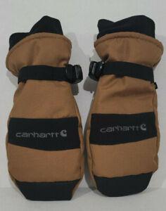 Carhartt A616 Men's W.P. Waterproof Insulated Mitt Brown Black