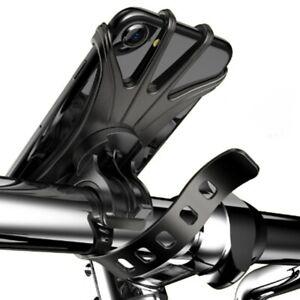 Handyhalterung Fahrrad Silikon Halterung Motorrad Handy Halter Lenker Smartphone