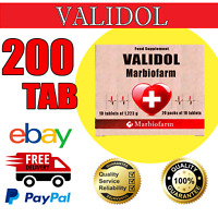VALIDOL 200 TAB ( 20 blisters X 10 TAB) | FREE DELIVERY | EXP DATE 06/2022
