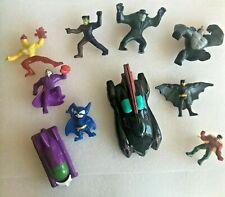Lot of 10 Batman Happy Meal toys from McDonalds, Batmobile, Joker, Robin, Batboy