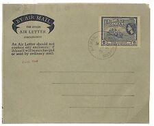 U58 1956 *BRITISH GUIANA* Air Letter Postal Stationery {samwells-covers}PTS