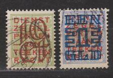 NVPH Nederland Netherlands 132-133 used Opruimingsuitgifte 1923 Pays Bas