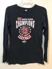 St Louis Cardinals Womens Large 2011 World Series Champions Long Sleeve T-Shirt