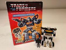 Transformers Commemorative Series - Ricochet w/ Nightstick (MIB, 100% Complete)
