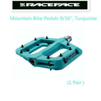 "Race Face Chester Platform Mountain Bike Pedals 9/16"",Turquoise"