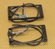 11806-02-B Seymour Duncan Black Triple Shot Flat Pickup Ring Set TS-1s