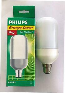 PHILIPS 9W 240V BC SL COMFORT ENERGY SAVER LAMP CFL WARM WHITE