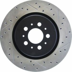 Stop Tech 127.39036R Sport Drilled & Slotted Brake Rotor For 04-07 Volvo V70 NEW