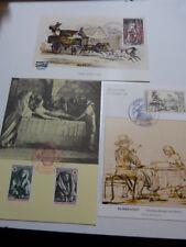 lot de 21 cartes 1er jour , journée du timbre (cpj02)