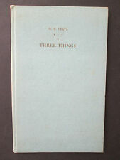 SIGNED YEATS POETRY BOOK- Three Things/ Illus. G. Spencer, Faber, Ariel Poems 18