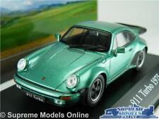Porsche 911 Turbo Model Car 1 43 Scale 1975 Green IXO Atlas 2891010 Mythiques K8