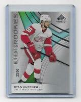 Ryan Kuffner 2019-20 SP Game Used Authentic Rookies TRUE ROOKIE 22/56 Red Wings
