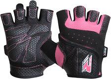 RDX дамы гелевые перчатки Fitness Gym износ тяжёлой атлетики тренировки обучение Велоспорт P