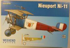 Eduard 1/48 Nieuport Ni-11 Bi-Plane Weekend Edition Model Kit 8422