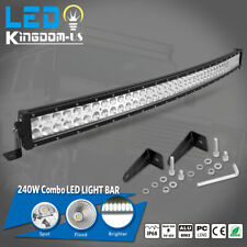 4D 42inch 560W Curved LED Light Bar Flood Spot Combo Off road Truck 4WD PK 40/42