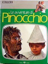 LE AVVENTURE DI PINOCCHIO PAOLINE COLLODI 1978 ILLUSTRAZIONI DAL FILM