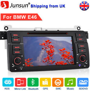 "For BMW 3 Series E46 320 Rover 75 325 7""Car Stereo Radio GPS Sat Nav BT DAB+DVD"