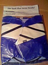 2001 YAMAHA YZF R6 CHAMP TANK BRA Blue/White/Black SECOND LOOK SPORTBIKE COVERS