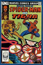MARVEL TEAM-UP #125 -1983 Marvel (fn) Spider-Man & Tigra