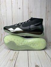 Nike Zoom KD 12 TB Kevin Durant Mens Size 11.5 Black White Dark Grey CN9518-002