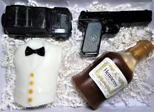 "Soap Gift Set for Men ""James Bond"". Handmade soap.All natural ingredients."