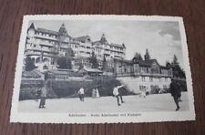 CPA Adelboden Hotel Adelboden mit Eisbahn Suisse Scène de vie patin à Glace