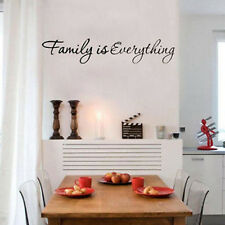 Family is Everything Removable Home Decor Art Vinyl Quote Home Wall Stickers New
