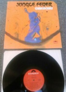 CHAKACHAS - JUNGLE FEVER LP EX!!! ORIGINAL U.S POLYDOR PD 5504 LATIN FUNK