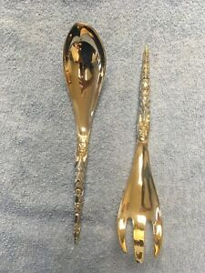 Used Native Gifts Northwest Coast 3-D Pewter spoon & ladle, Totem Design by Boma