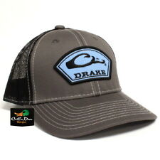 4ac08ba3 Drake Men's Logo Arch Patch Mesh Back Cap Polyester Charcoal/black