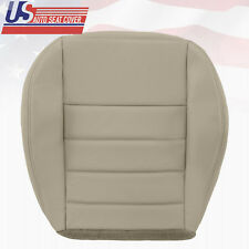 2009 Dodge Charger R/T SE SXT Driver Bottom Replacement Leather Seat Cover Gray