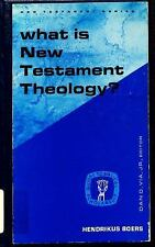 What is New Testament Theology?: The Rise of Criticism and the Problem-ExLibrary