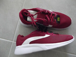 NEW Women's Athletic Works Memory foam Running shoes Red White Sz 8W Sneakers