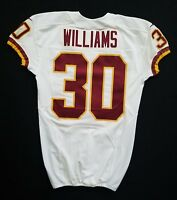 #30 Williams of Washington Redskins NFL Game Issued Jersey