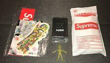 SUPREME Glow in the Dark White Zippo Lighter SS20 BNIB w/Accessories Rain Poncho