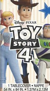 TOY STORY 4 Disposable Tablecloth Birthday  Party Supplies Decorations Disney
