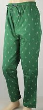 POLO Ralph Lauren Green Multi Cream Pony Pajamas Lounge Sleep Pants