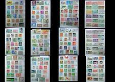 World Stamp Collection Asia Burma Japan Mongolia Thailand China Korea Hong Kong