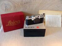 "Leitz Wetzlar - Leitz Leica IIIf Gehäuse/Body M39  ""1a Sammlerstück"" - Boxed!"