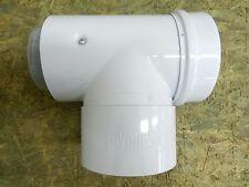 Vaillant Abgasrohr T-Stück Brennwert DN 80 / 125 mm Abgasrohr raumluftunabhängig