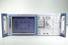 Rohde Amp Schwarz Amu200a Baseband Signal Generator And Fading Sim Loaded