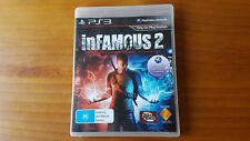 infamous 2 ps3 playstation 3 game
