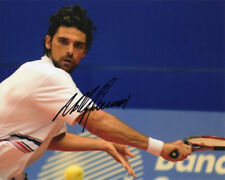 Mark Philippoussis, Australie joueur de tennis, signé 10x8 Photo. COA. la preuve.