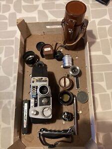 Job Lot Of Cine Film Camera, Lenses Etc No Reserve GB Bell & Howell Tamron Bolex